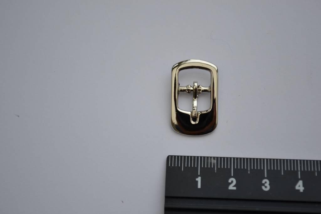 Gesp 10mm zilver