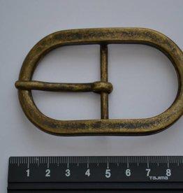 BU74  Gesp 40mm brons