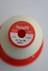 SER30/1000 Serafil garen gebroken wit