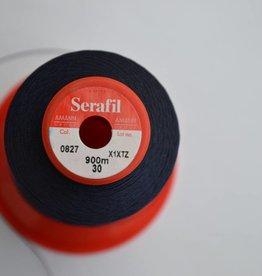 SER30/0827 Serafil garen donkerblauw