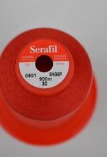 SER30/0501 Serafil garen rood