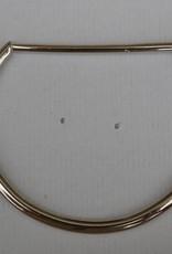 D-ring zilver 80mm