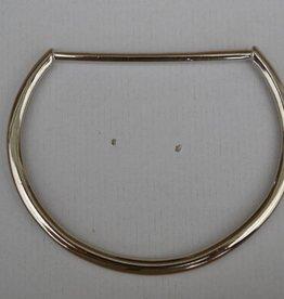 R108 D-ring zilver 80mm