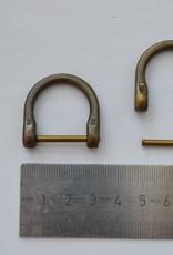 Hoefijzerring brons open 20mm