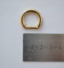 R111 D-ring goud 10mm
