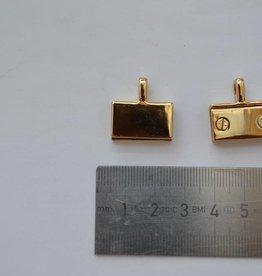 A130 Kettingbevestiging goud
