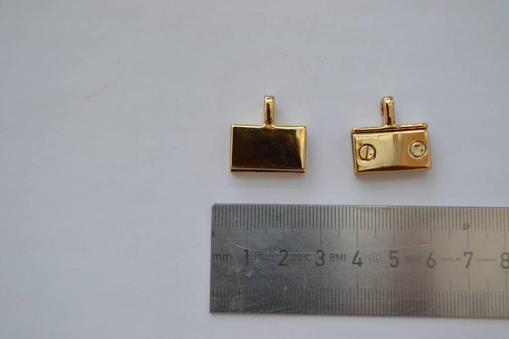 Kettingbevestiging goud