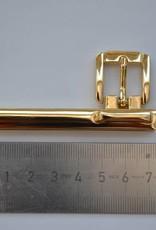 Riembevestiging goud 15mm