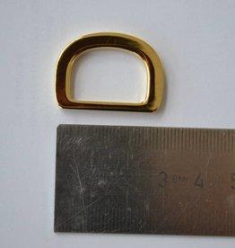 R26 D-ring goud 20mm