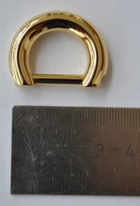 Ring 15mm goud