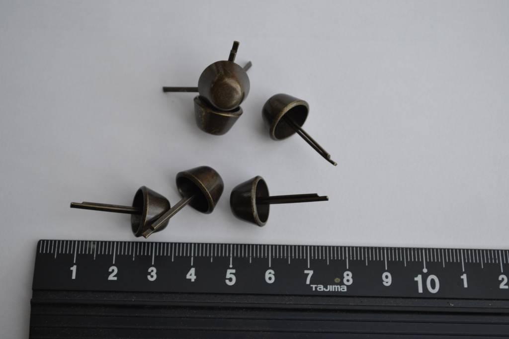 Pootjes brons 14mm  met splitpennen