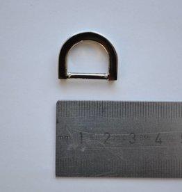 R36  D-ring zilver 15mm