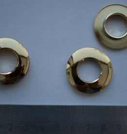 BUT7 Oog rond goud 14mm