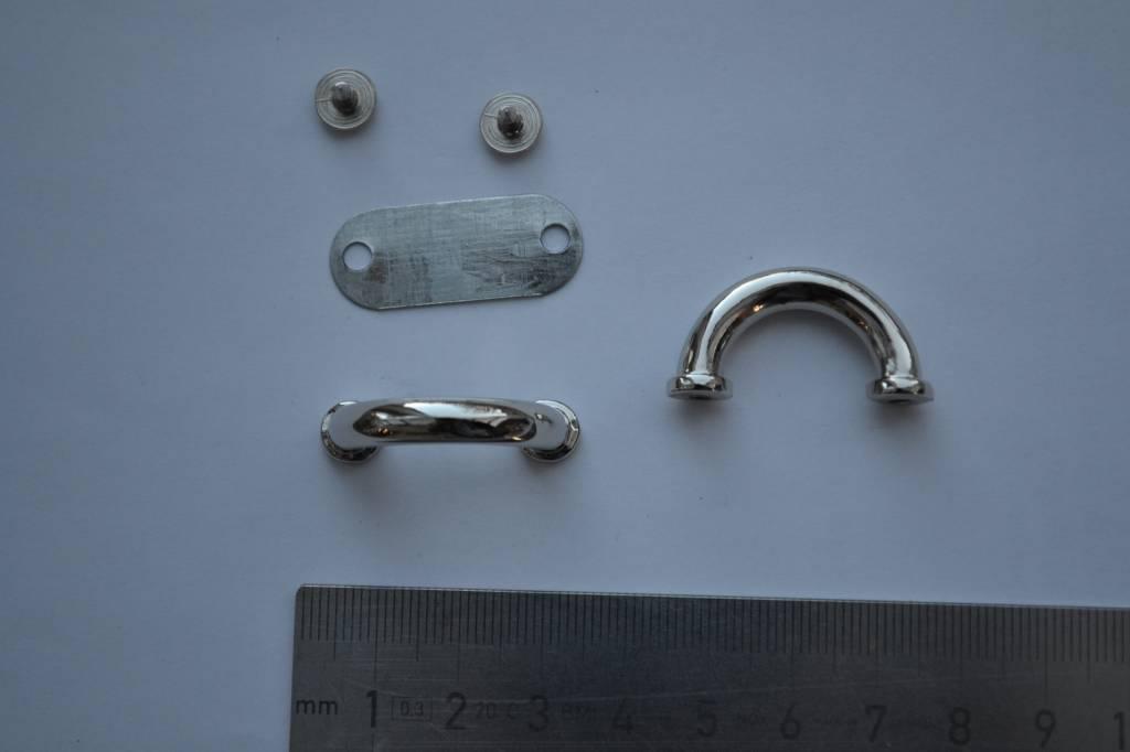 Brug zilver 18mm