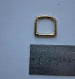 R115 D-ring goud 15mm