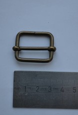 Schuifgesp brons 25mm