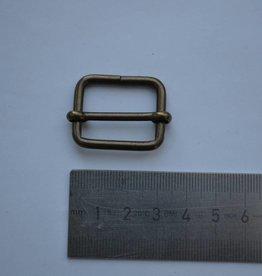 S20 Schuifgesp brons 25mm