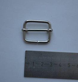 S21 Schuifgesp zilver 25mm