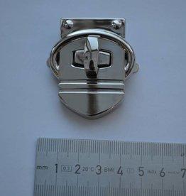 TW49 Draaisluiting zilver