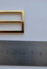 Schuifgesp goud 30mm