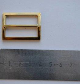 S22 Schuifgesp goud 30mm
