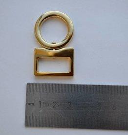 A7 Draagriembevestiging goud 20mm