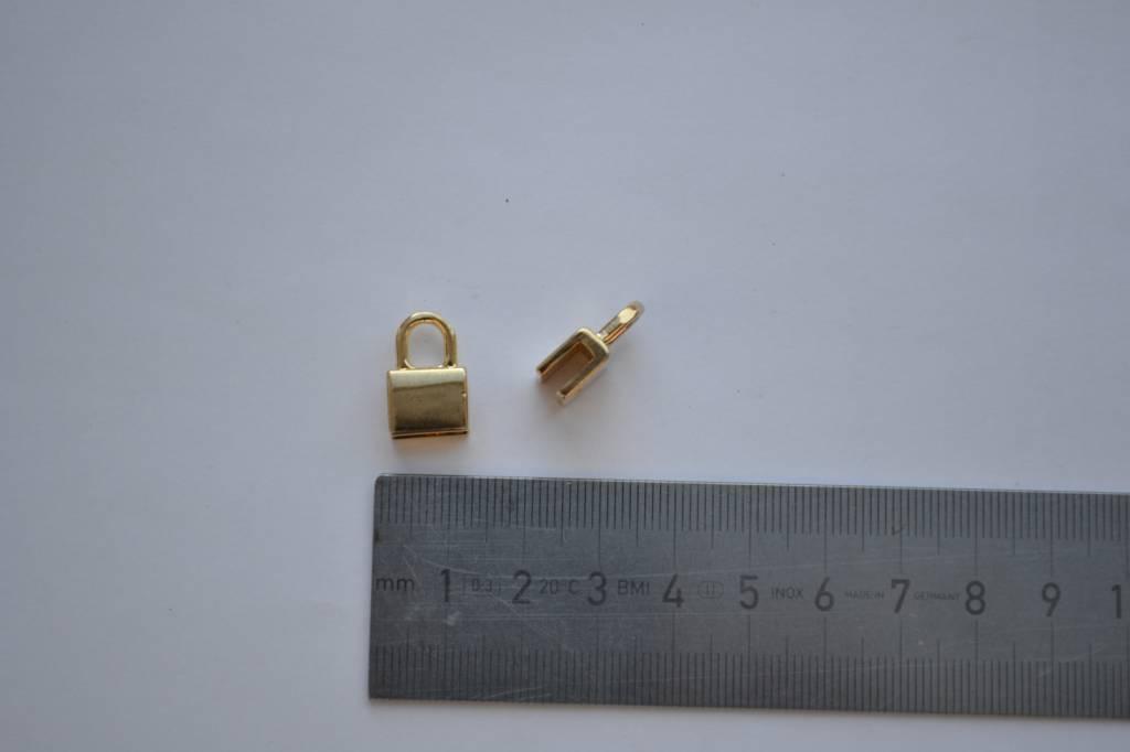 Draagriembevestiging goud 0.5mm
