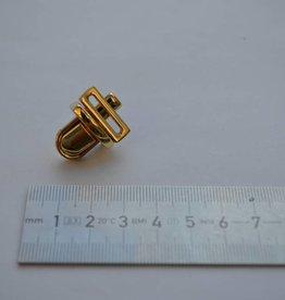 TUC20 Boekentasslot klein goud