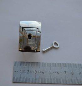 Tuc21 Boekentas slot zilver