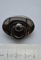 Ovale sluiting gunmetal