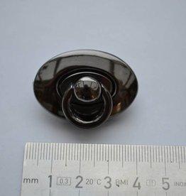 F54 Ovale sluiting gunmetal