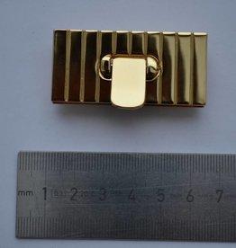 F27 Rechthoekige sluiting goud