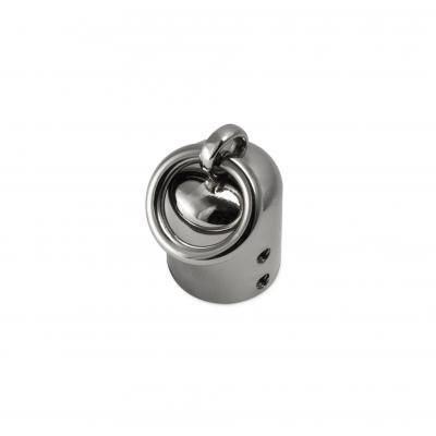 Handvat/draagriembevestiging zilver