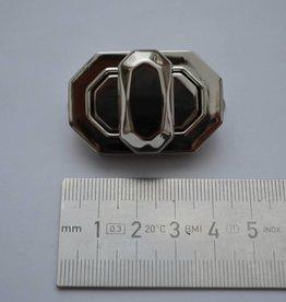 TW51 Draaisluiting zilver
