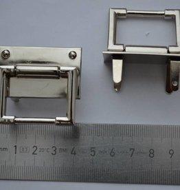 A70 Draagriembevestiging zilver 30mm