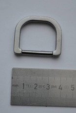 D-ring gunmetal 25mm