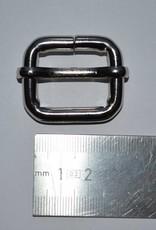 S4 Schuifgesp 25mm zilver 25x20x6