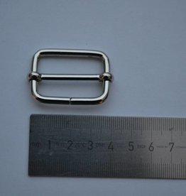S5 Schuifgesp 30mm zilver 30x40x4