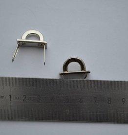 A57 Brugje zilver 10mm met splitpennen