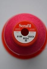 SER30/8189 Serafil garen 30 fluo roze