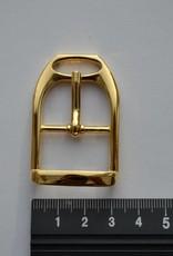 Bu5 Gesp 25mm goud
