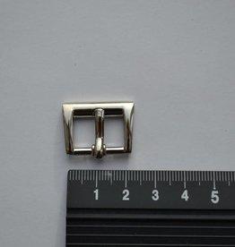 BU24 Gesp zilver 16mm