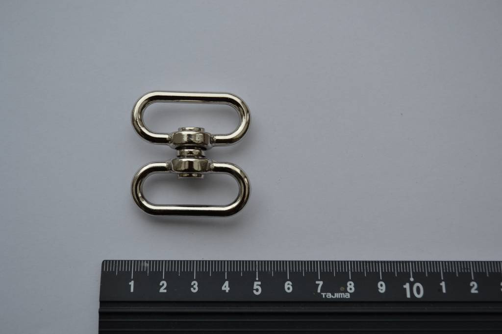 A35 Draagriembevestiging zilver 30mm