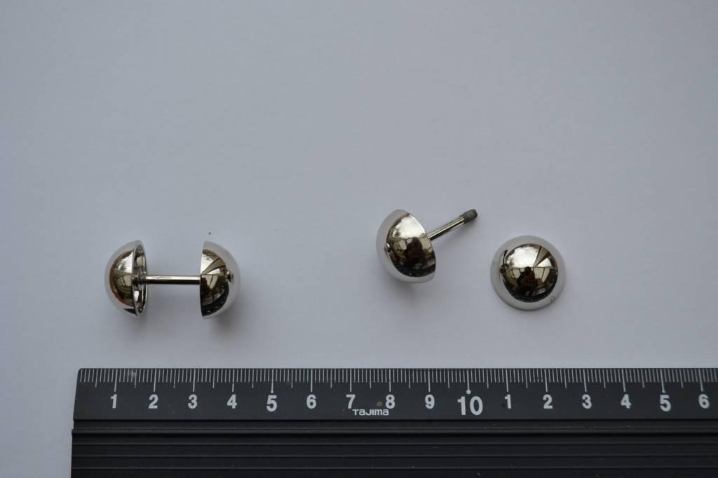 A128 Draagriembevestiging 15mm zilver