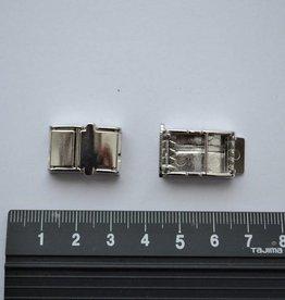 FA2  armbandsluiting zilver 10mm