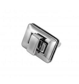 TW15 draaisluiting zilver