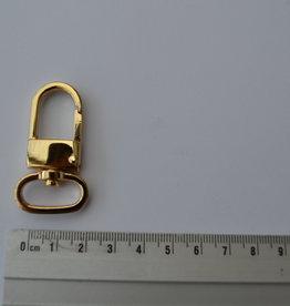 SC77 Musketonhaak 20mm goud