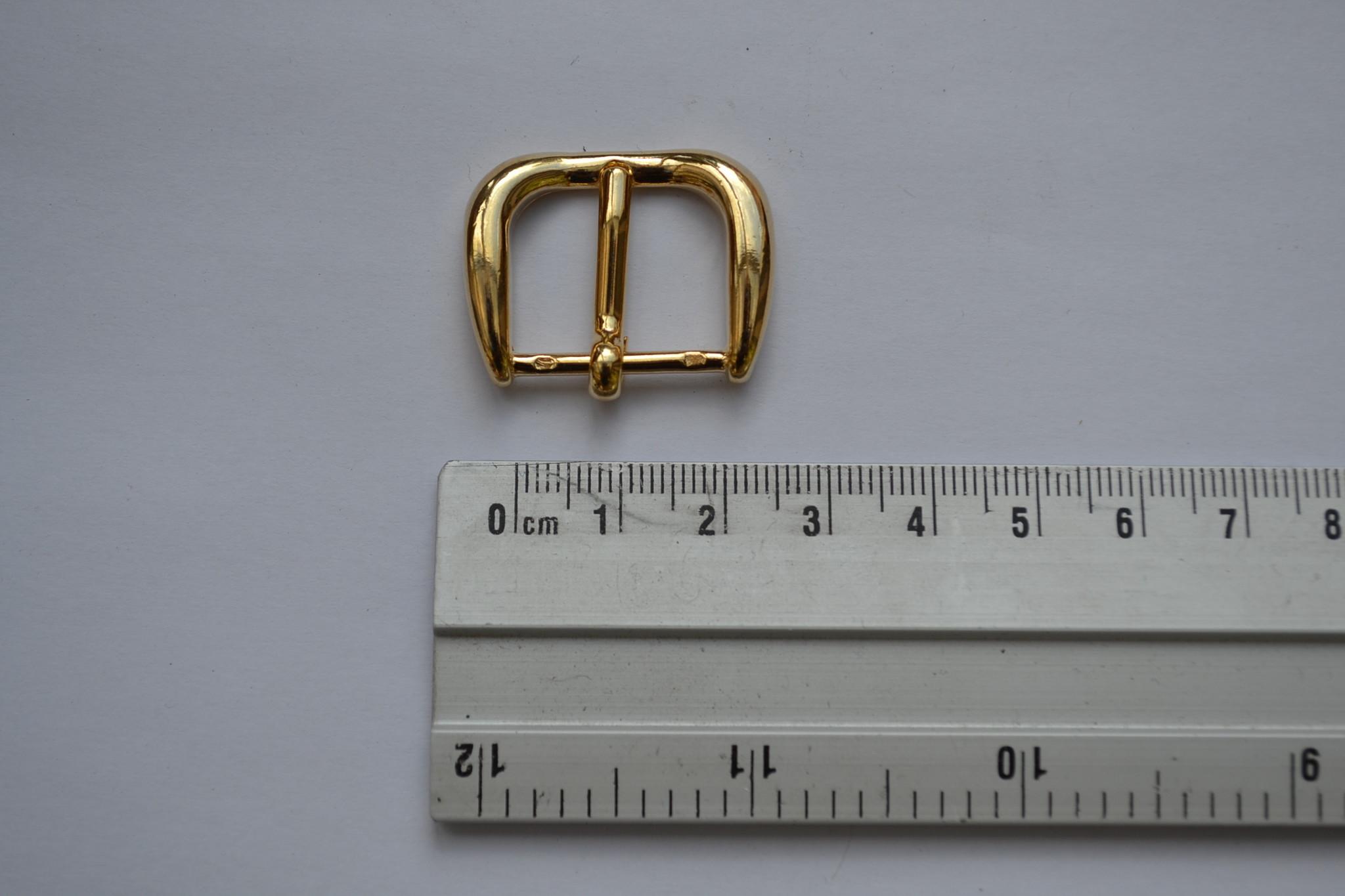 Gesp 20mm goud