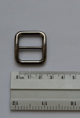 Schuifgesp gunmetal 20mm