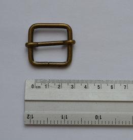S7 Schuifgesp brons 25mm